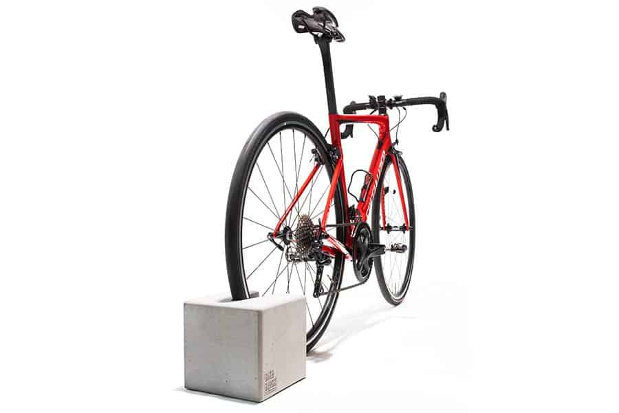 Bikeblock mit Rennrad