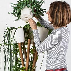 Blumenständer Topf abnehmen