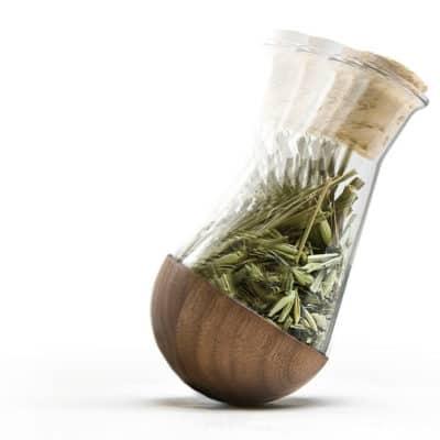 Gewürzglas in Bewegung