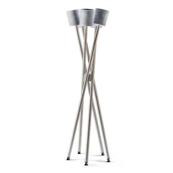plant stand stainless steel