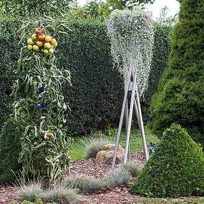 Pflanzenständer, outdoor, Edelstahl