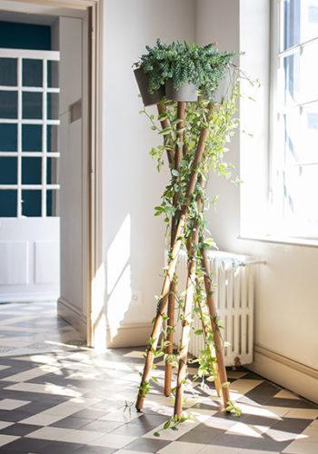 Pflanzenständer mit Übertöpfen