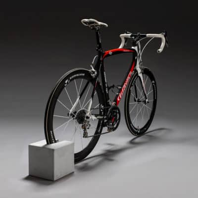 carbon racing bike with Bikeblock