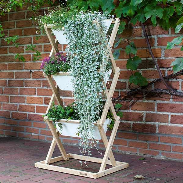 vertikaler garten in 3 varianten urban gardening auf engstem raum. Black Bedroom Furniture Sets. Home Design Ideas