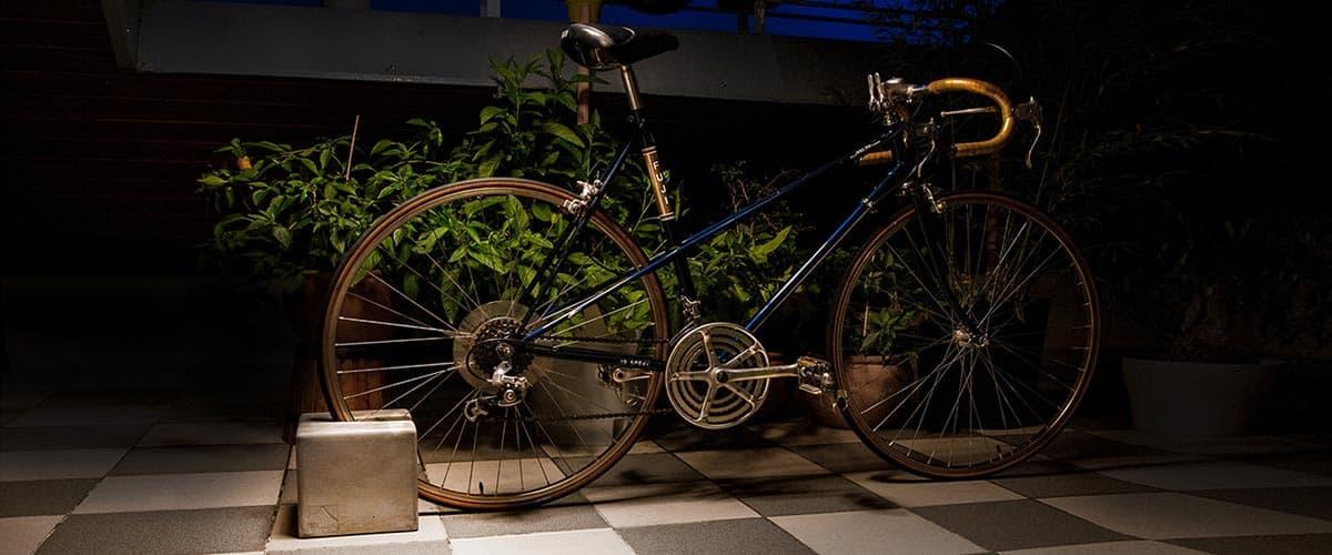 BIKEBLOCK Fahrradständer mit Damenrad